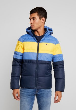 RUGBY STRIPE JACKET - Zimní bunda - dutch blue