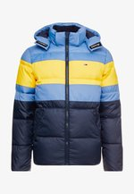 RUGBY STRIPE JACKET - Winter jacket - dutch blue