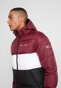 Tommy Jeans - COLORBLOCK - Giacca invernale - burgundy - 4