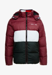 Tommy Jeans - COLORBLOCK - Giacca invernale - burgundy - 5