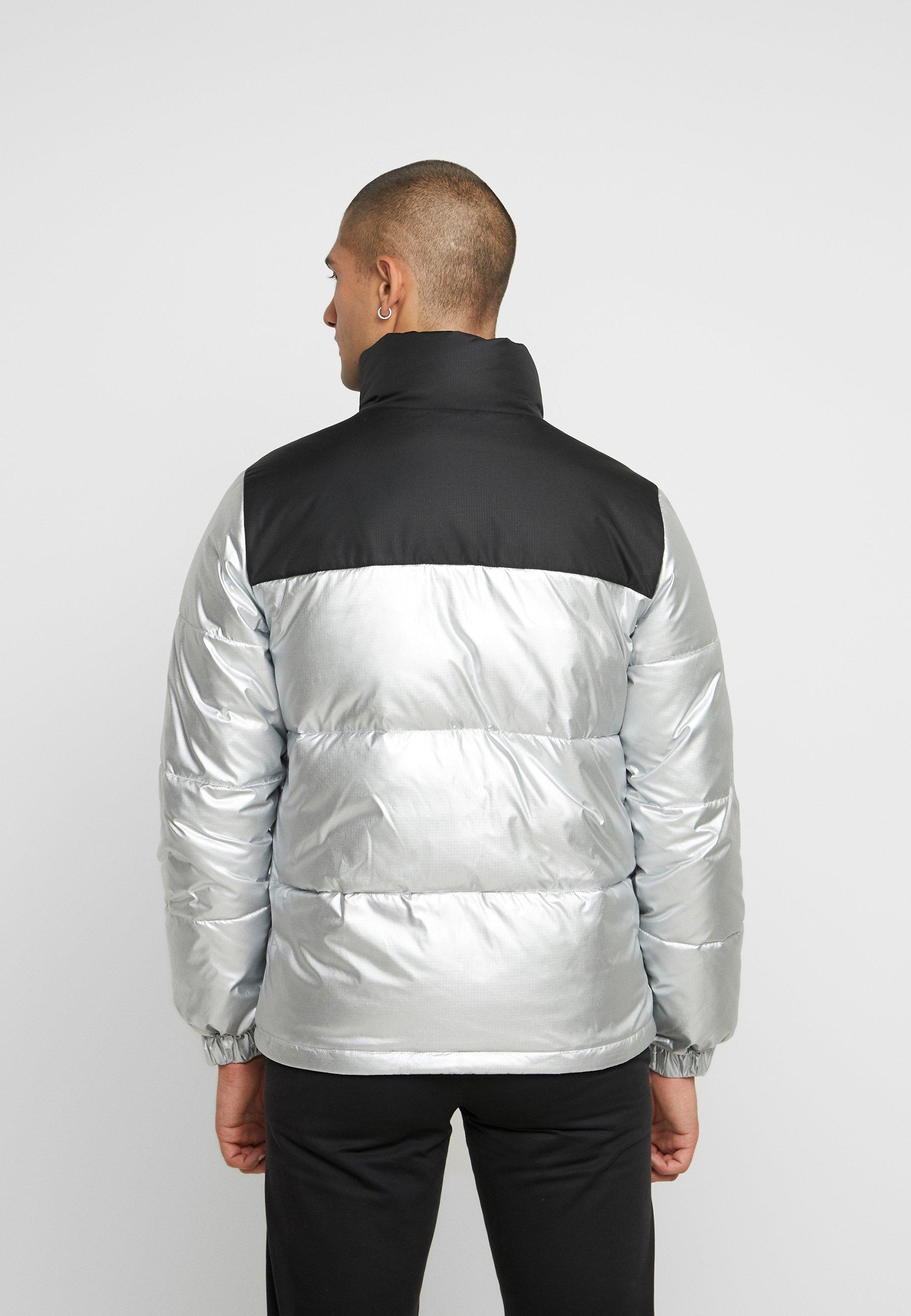 Tommy Jeans JACKET - Gewatteerde jas - metallic/black