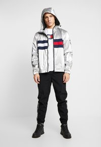 Tommy Jeans - JACKET  - Windbreakers - metallic - 1