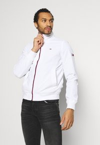 Tommy Jeans - ESSENTIAL JACKET - Summer jacket - white - 0