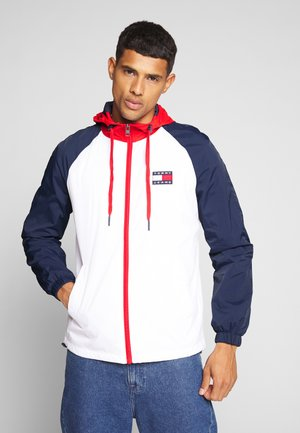 COLORBLOCK ZIPTHROUGH JACKET - Chaqueta fina - white/multi