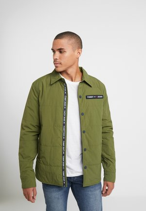 PADDED COLLAR - Light jacket - cypress
