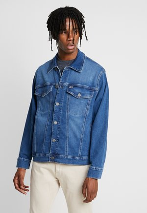 TRUCKER - Denim jacket - bedford mid blue