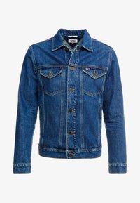 Tommy Jeans - REGULAR JACKET - Kurtka jeansowa - alan mid blue rig - 5