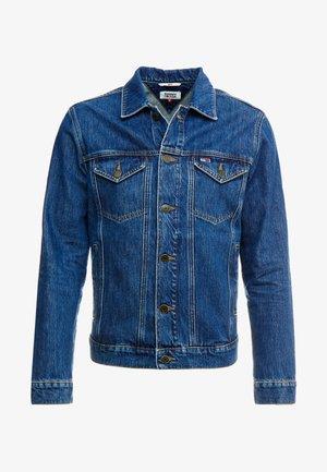 REGULAR JACKET - Kurtka jeansowa - alan mid blue rig