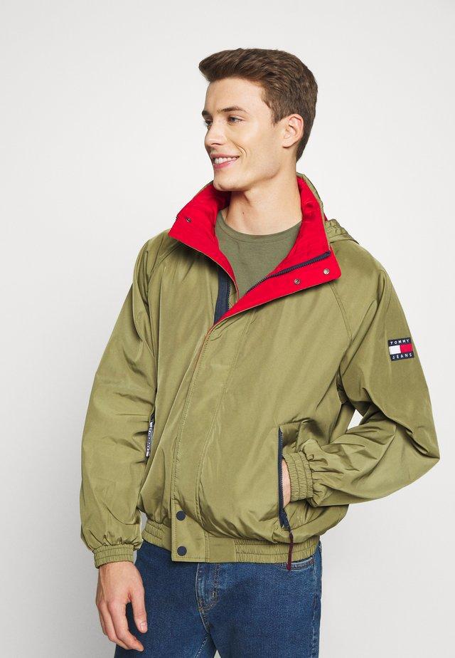 RETRO JACKET - Overgangsjakker - uniform olive