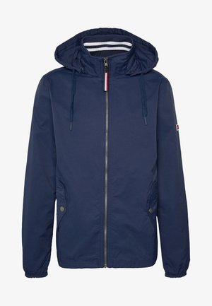 ESSENTIAL HOODED JACKET - Korte jassen - black iris