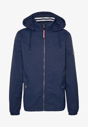 ESSENTIAL HOODED JACKET - Summer jacket - black iris