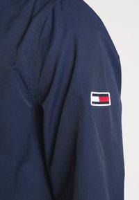 Tommy Jeans - ESSENTIAL HOODED JACKET - Summer jacket - black iris - 5