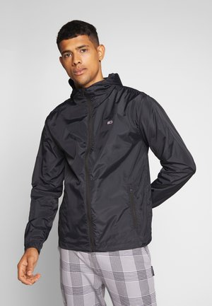 PACKABLE - Windbreaker - black