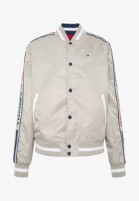 Tommy Jeans - REVERSIBLE JACKET - Bomberjacks - beige/red - 5
