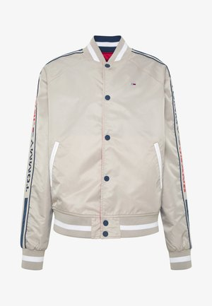 REVERSIBLE JACKET - Bomberjacks - beige/red