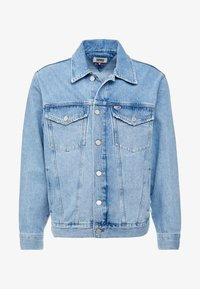 Tommy Jeans - OVERSIZE TRUCKER JACKET - Denim jacket - flag - 3