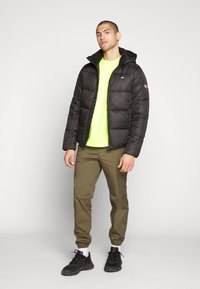 Tommy Jeans - TJM BASIC HD JACKET  - Zimní bunda - black - 1