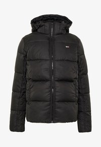 Tommy Jeans - TJM BASIC HD JACKET  - Zimní bunda - black - 6