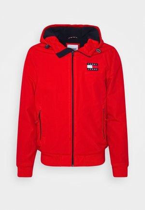 PADDED JACKET - Jas - deep crimson