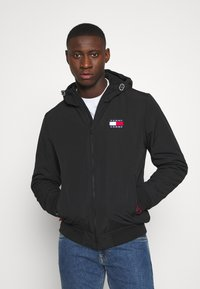 Tommy Jeans - PADDED JACKET - Light jacket - black - 0