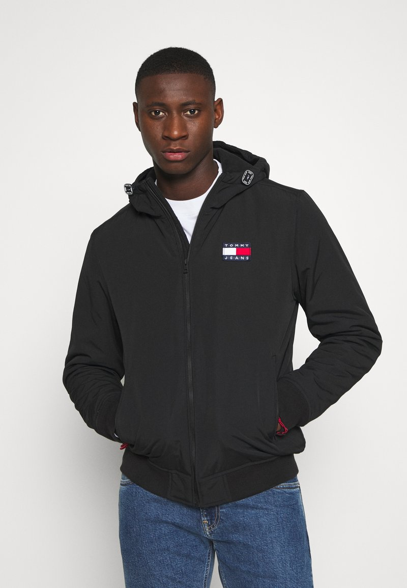 Tommy Jeans - PADDED JACKET - Light jacket - black
