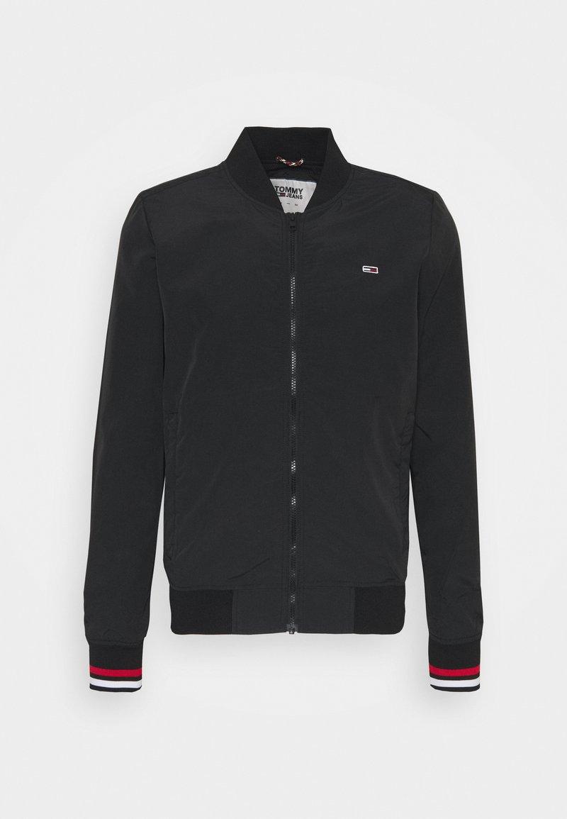 Tommy Jeans - ESSENTIAL - Bomber Jacket - black