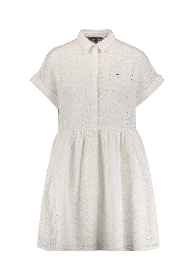 Shirt dress - weiss (10)