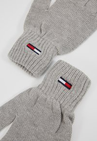 Tommy Jeans - BASIC FLAG GLOVES - Guantes - grey - 3