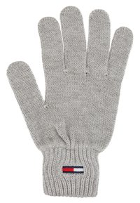 Tommy Jeans - BASIC FLAG GLOVES - Guantes - grey - 1