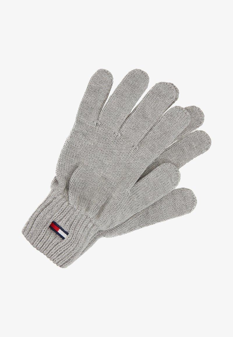 Tommy Jeans - BASIC FLAG GLOVES - Gloves - grey