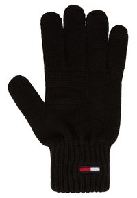 Tommy Jeans - BASIC FLAG GLOVES - Handschoenen - black - 1