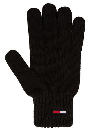 BASIC FLAG GLOVES - Fingerhandschuh - black