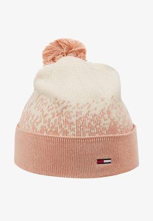 TJW POM POM DEGRADE FLAG BEANIE - Bonnet - pink
