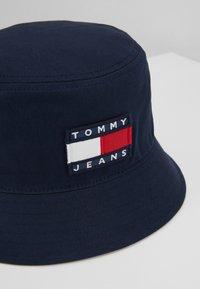 Tommy Jeans - HERITAGE BUCKET HAT - Sombrero - blue - 5