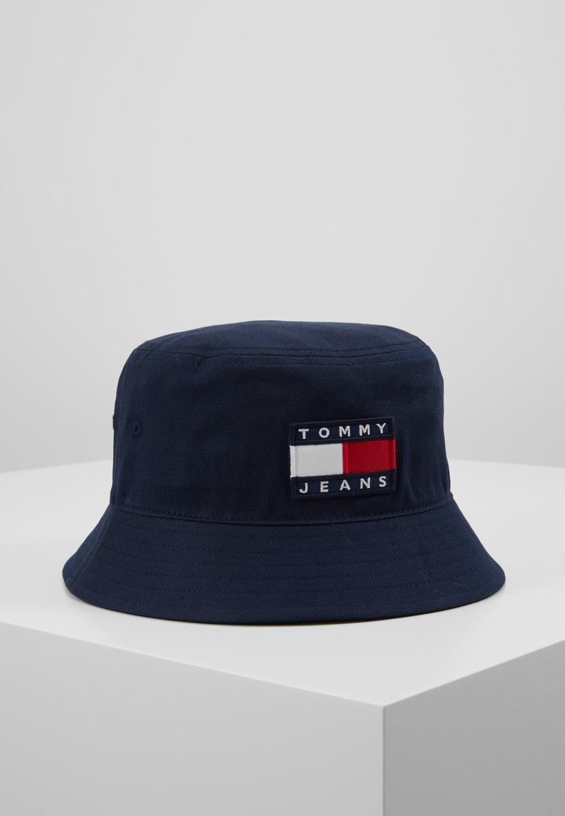 Tommy Jeans - HERITAGE BUCKET HAT - Sombrero - blue