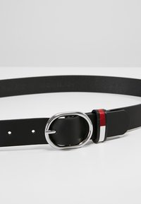 Tommy Jeans - FLAG INLAY BELT - Riem - black - 4