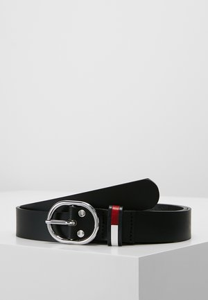 FLAG INLAY BELT - Pásek - black