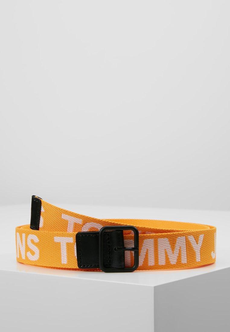 BeltCeinture Bold Logo Tommy Jeans Yellow 6vbgY7Ifym