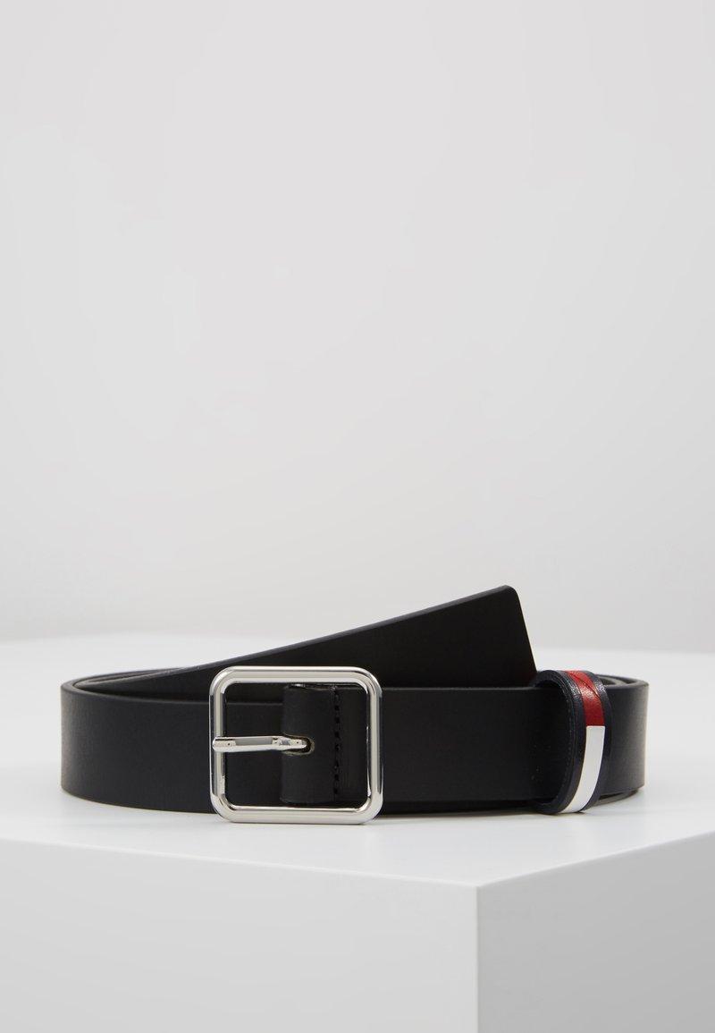 Tommy Jeans - FLAG INLAY - Pásek - black
