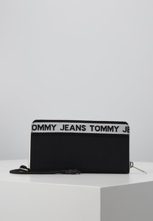 LOGO TAPE WALLET - Lommebok - black