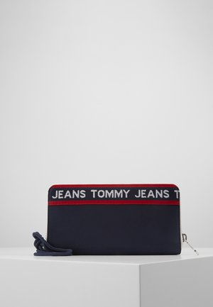 LOGO TAPE WALLET - Wallet - blue