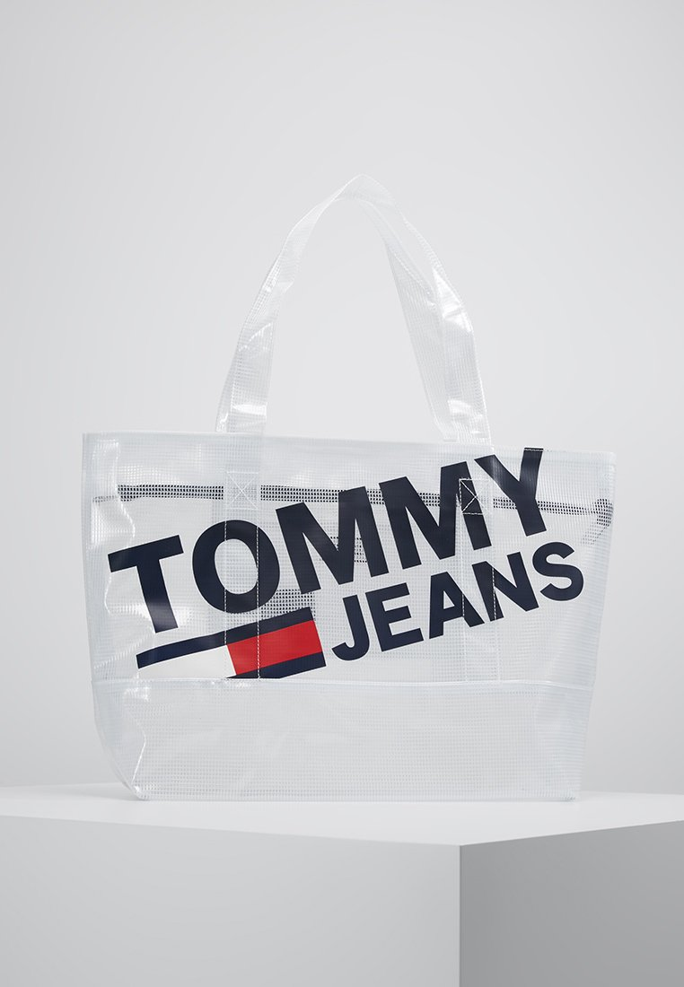 Tommy Jeans - SUMMER TOTE - Shopping bag - white