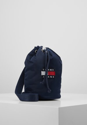 HERITAGE SMALL SLING BAG - Handtas - blue