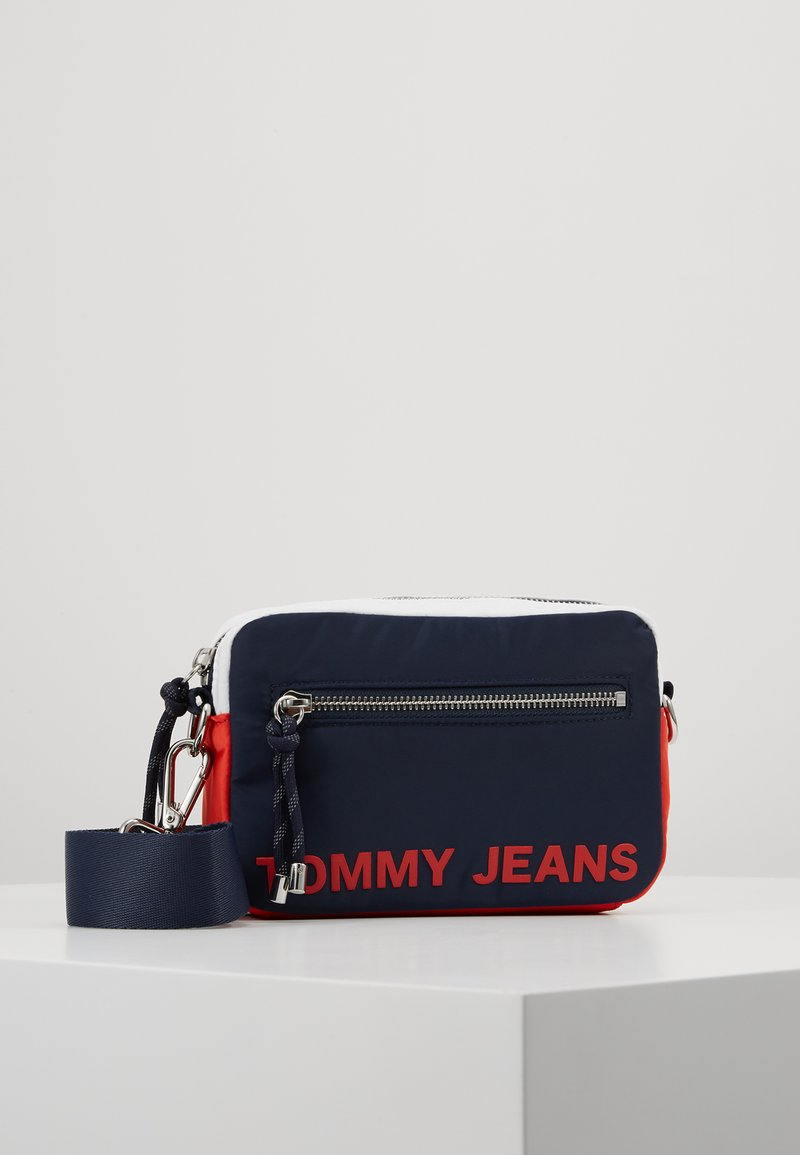 Tommy Jeans - ITEM CROSSOVER - Taška spříčným popruhem - multi