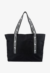 Tommy Jeans - LOGO TAPE TOTE - Shopper - black - 5