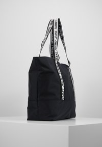 Tommy Jeans - LOGO TAPE TOTE - Shopper - black - 3