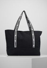 Tommy Jeans - LOGO TAPE TOTE - Shopper - black - 2