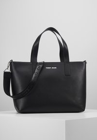 Tommy Jeans - FEMME TOTE - Shopping Bag - black - 0