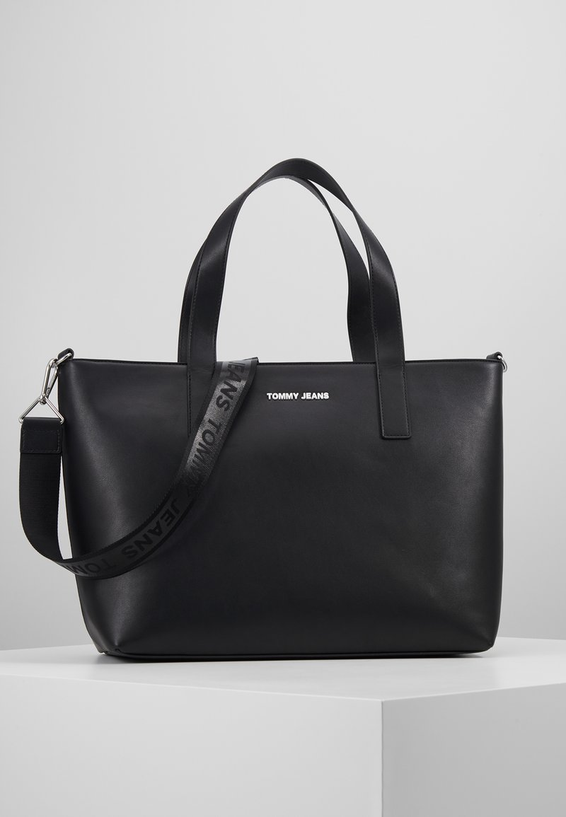 Tommy Jeans - FEMME TOTE - Shopping Bag - black