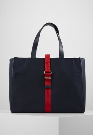 MODERN TWIST TOTE - Shopping bag - blue